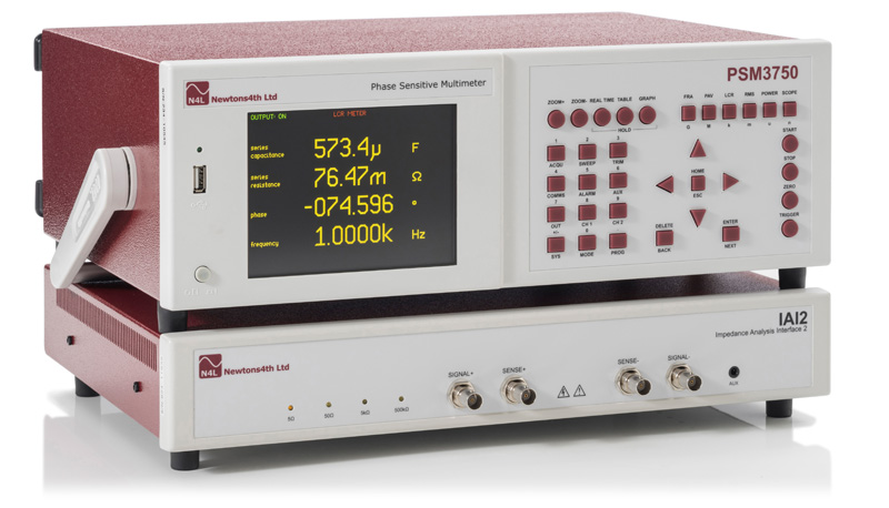 Impedanční analyzátor PSM3750_IAI2
