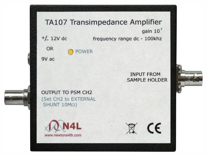 Transimpedanční zosilňovač TA107