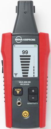 Ultrazvukové detektory netesností Beha-AMPROBE radu ULD-400