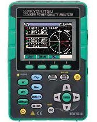 KEW 6310 - trojfázový analyzátor kvality energie