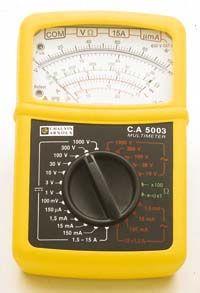 Ručičkový multimeter C.A 5003