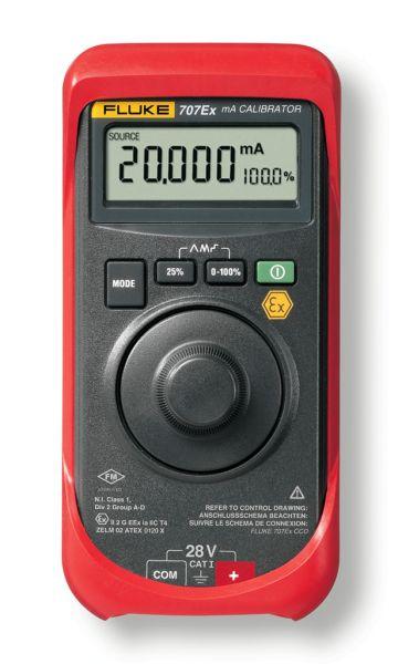 Kalibrátor prúdovej slučky FLUKE 707Ex