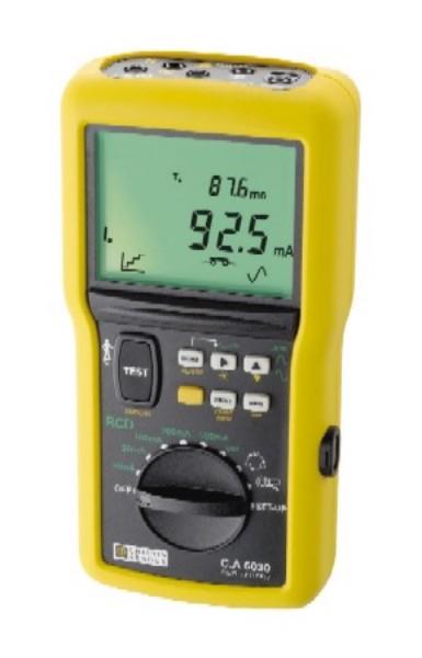 Skúšačka prúdových chráničov C.A 6030
