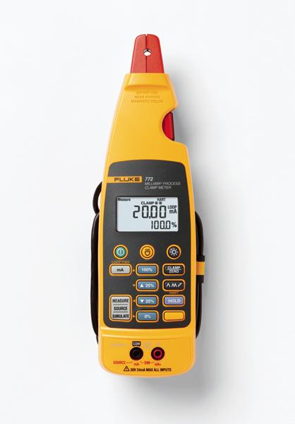 Procesný kliešťový prístroj Fluke 772