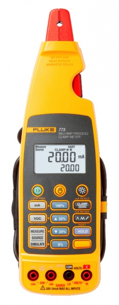 Procesný kliešťový prístroj Fluke 773