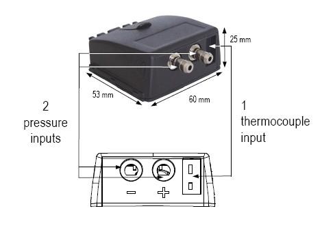 KIMO tlakový a termočlánkový modul