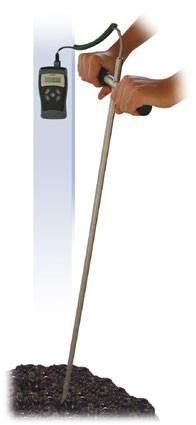 Teplotná sonda do kompostov
