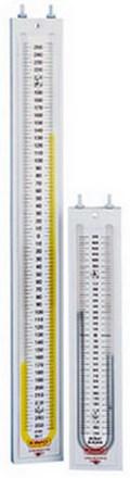 Vertikálne manometre KIMO tvaru U rady GF