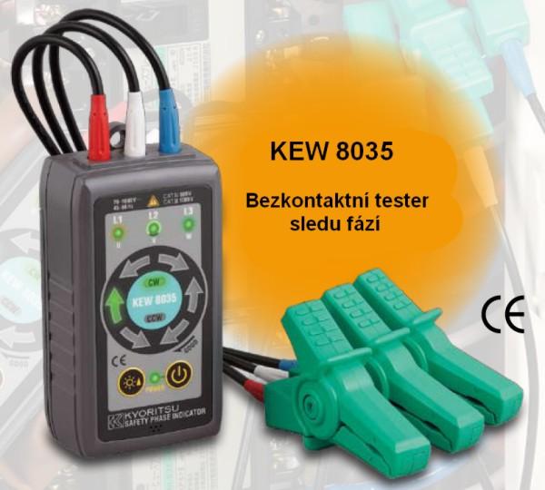 Bezkontaktný tester poradia fáz KEW 8035