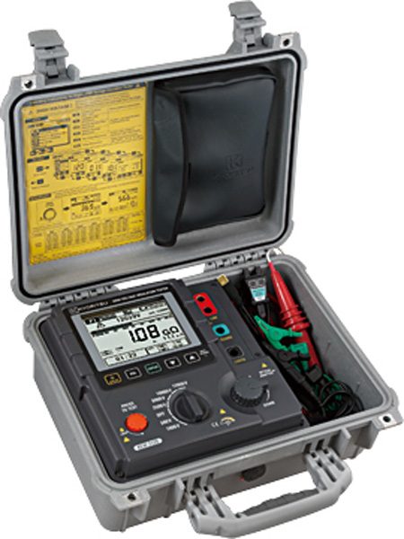 Vysokonapäťový merač izolácie KEW 3128