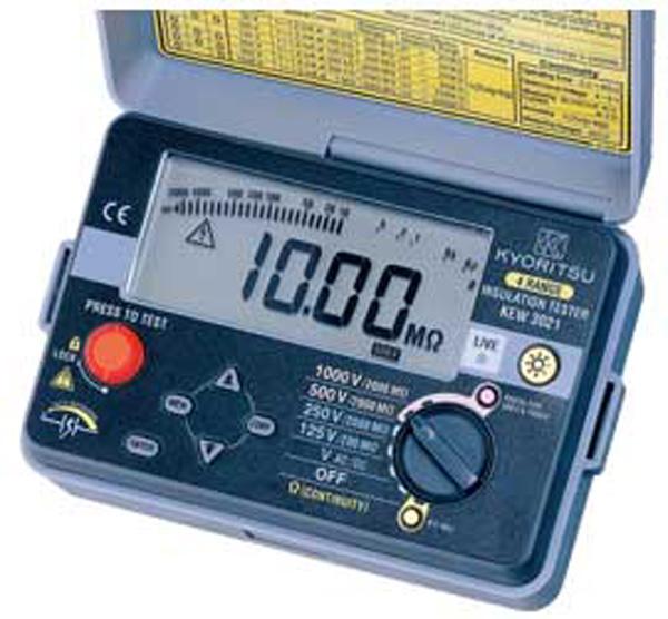 Digitálny merač izolácie aspojitosti Kyoritsu KEW 3022