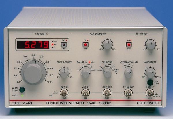 Funkčný generátor TOE 7741