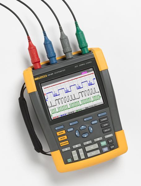 4kanálový batériový osciloskop Fluke 190-104