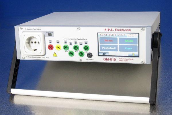 Tester elektrickej bezpečnosti GM-610