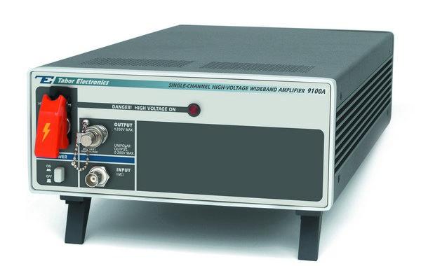 Jednokanálový vysokonapäťový širokopásmový zosilňovač Tabor 9100A
