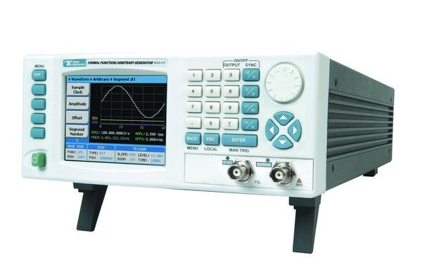 Jednokanálový arbitrárny generátor WS8101