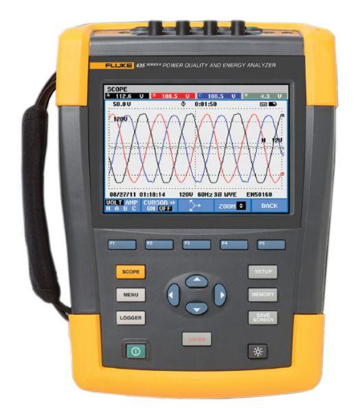 Analyzátor kvality elektrickej energie Fluke 435 II