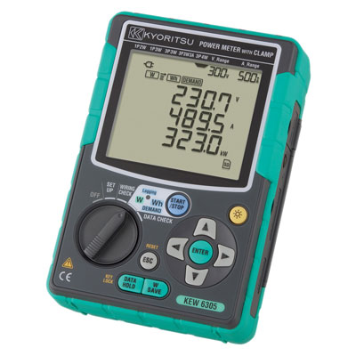 Trojfázový Wattmeter KEW 6305