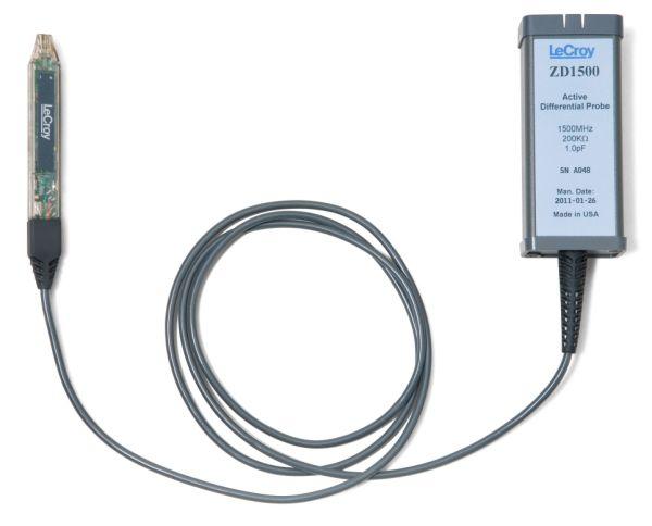 Aktívne diferenciálne sondy LeCroy radu ZD 500 MHz až 1,5 GHz
