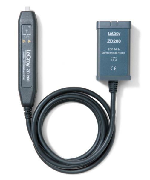 Aktívna diferenciálna sonda LeCroy ZD200 do 200MHz pre automotive apriemyselné aplikácie